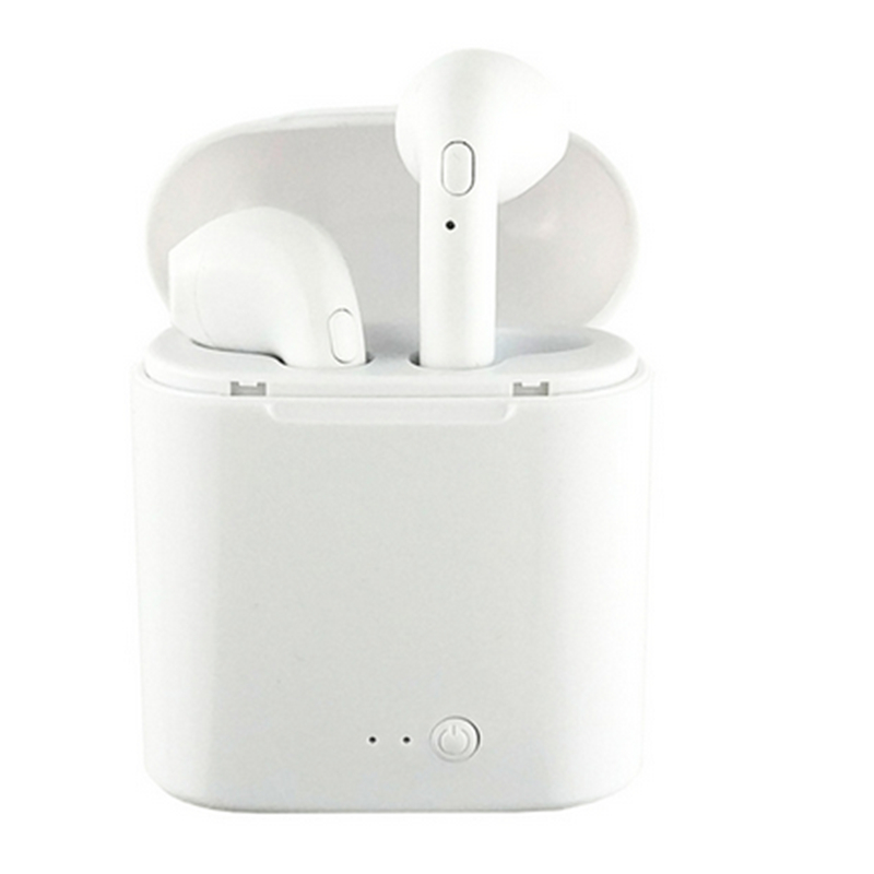 Mini i7s Tws Wireless Bluetooth <font><b>Earphones</b></font> Stereo Bass <font><b>Earphone</b></font> Earbuds Sport Headset with Charging Box for iPhone <font><b>xiaomi</b></font> Phone image