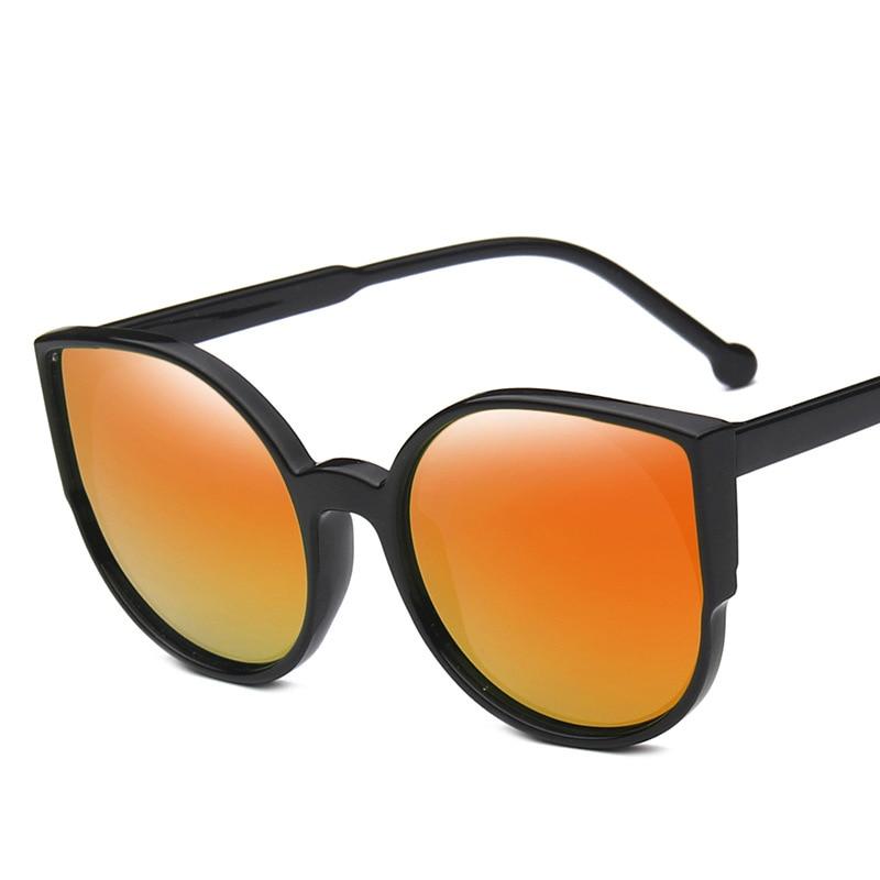 DIGUYAO Marque 2017 New Cat Eye lunettes de Soleil Femmes Mode D été Style  Grande Taille Cadre Miroir Lunettes De Soleil des Femmes Oculos UV400 dans  ... 6874196c3ec1
