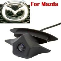 Voertuig Logo Mark HD CCD Kleur Auto Front Camera Speciaal voor Hyundai/NIssan/Mazda Serie Nachtzicht