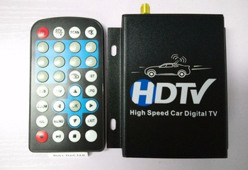 12V-24V Car ATSC North America Digital TV Receiver Box Full One Seg With Tuner Antenna