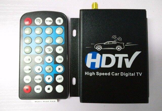 12V-24V Car ATSC North America Digital TV Receiver Box Full One Seg With Tuner Antenna