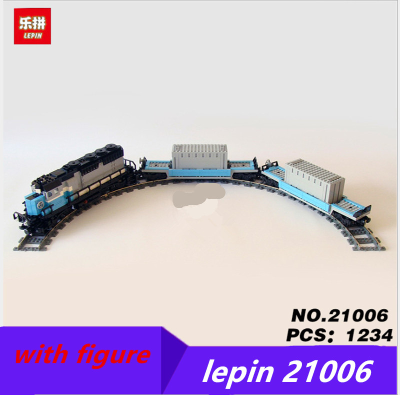 Compatible legoing train Maersk 10219 lepin train 21006 City Series Model Building Blocks Brick Set Classic Car-styling Toys legoing chaos warriors caves 70596 ninja series 1307 building blcok set brick compatible 10530 toys for children gift
