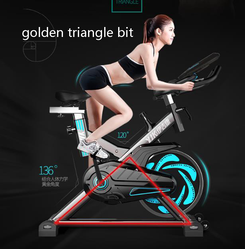 Dynamic sense of bicycle / ultra-quiet home fitness equipment / indoor sports exercise bike / home exercise bike/210904/4 effects of khat catha edulis exercise