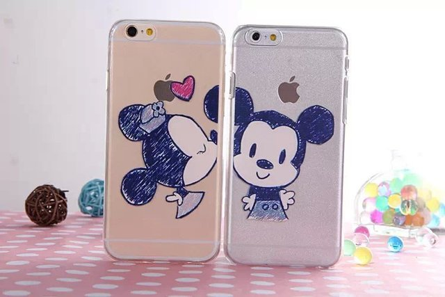 coque iphone 6 minnie rouge