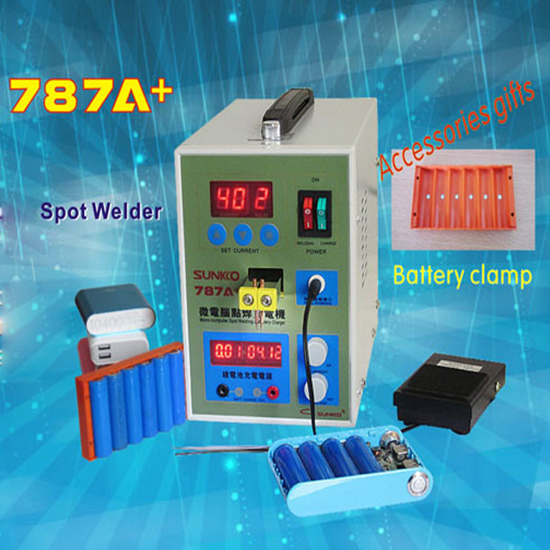 1pc  787A+MCU Battery Spot Welder machine Welding Machine Applicable Notebook and Phone Battery Precision Welding Pedal spot welder machine laptop button battery welding machine battery pack applicable notebook and phone battery welding