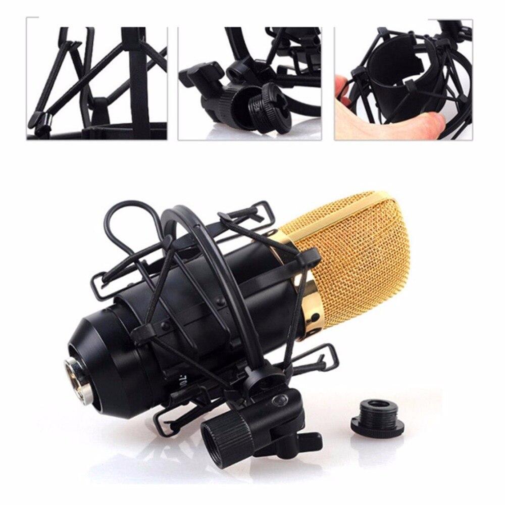 Unterhaltungselektronik Heimelektronik Zubehör Sparsam 1 Pcs Großhandel Universal Studio Sound Aufnahme Mic Mikrofon Shock Mount Clip Halter