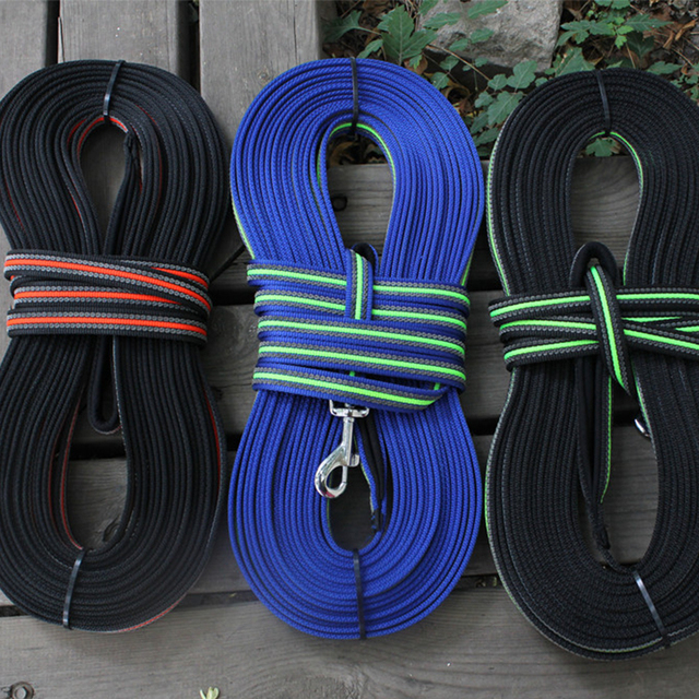 Non Slip Reflective Outdoor Dog Leash Traction Rope With Soft Padded Handle For Medium Large