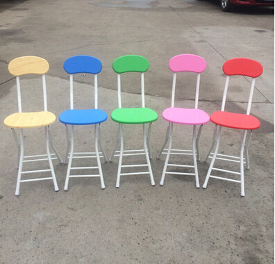 Fashion simple folding chairs. Household eat chair