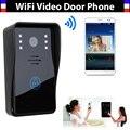 Новый Wi-Fi видео-телефон двери дверной звонок Домофон глобальный видео-телефон двери Поддержка IOS Android для iPad Смартфон Tablet