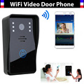 New Wifi video door phone doorbell Wireless Intercom global video door phone Support IOS Android for iPad Smart Phone Tablet
