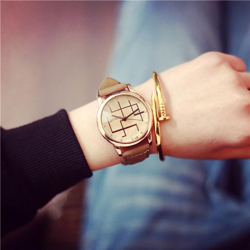 Excellent Quality 2016 New Watches Men Women Casual Leather Quartz Watches Men Luxury Brand Wristwatch Relogio Masculino Relojes
