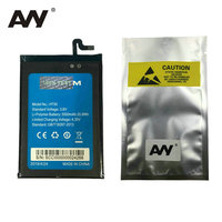 AVY Battery For Homtom HT50 Mobile Phone Rechargeable Li Polymer Replacement Batteries Bateria 5500mAh 100 Tested