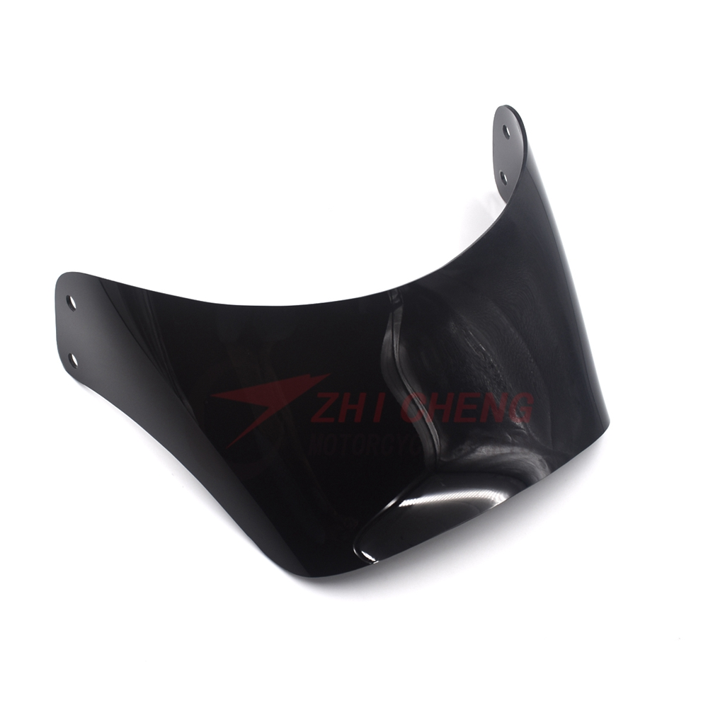 Offroad Motorcycle Windshield Windscreen For Suzuki DJEBEL250 DR250 DR DJEBEL 250 Black Windproof Front Glass Screen Deflector image