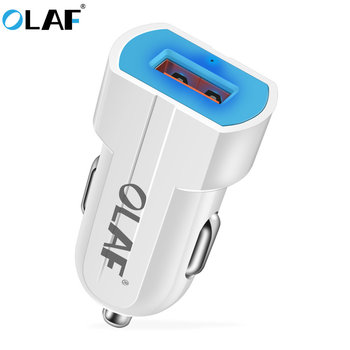 OLAF Mini USB Car Charger Mobile Phone Tablet GPS 2A Fast Charger Car-Charger USB Car Phone Charger Adapter in Car for iPhone
