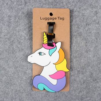 Unicorn Suitcase Luggage Tag