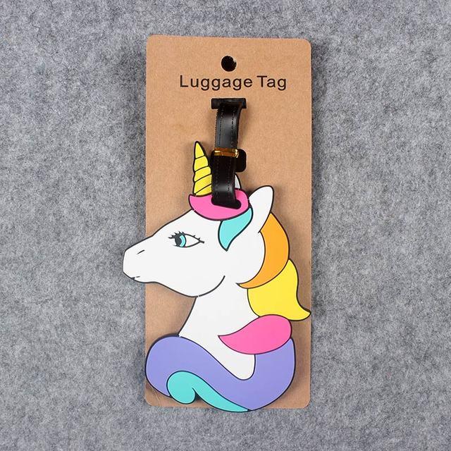 Unicorn Suitcase Luggage Tag