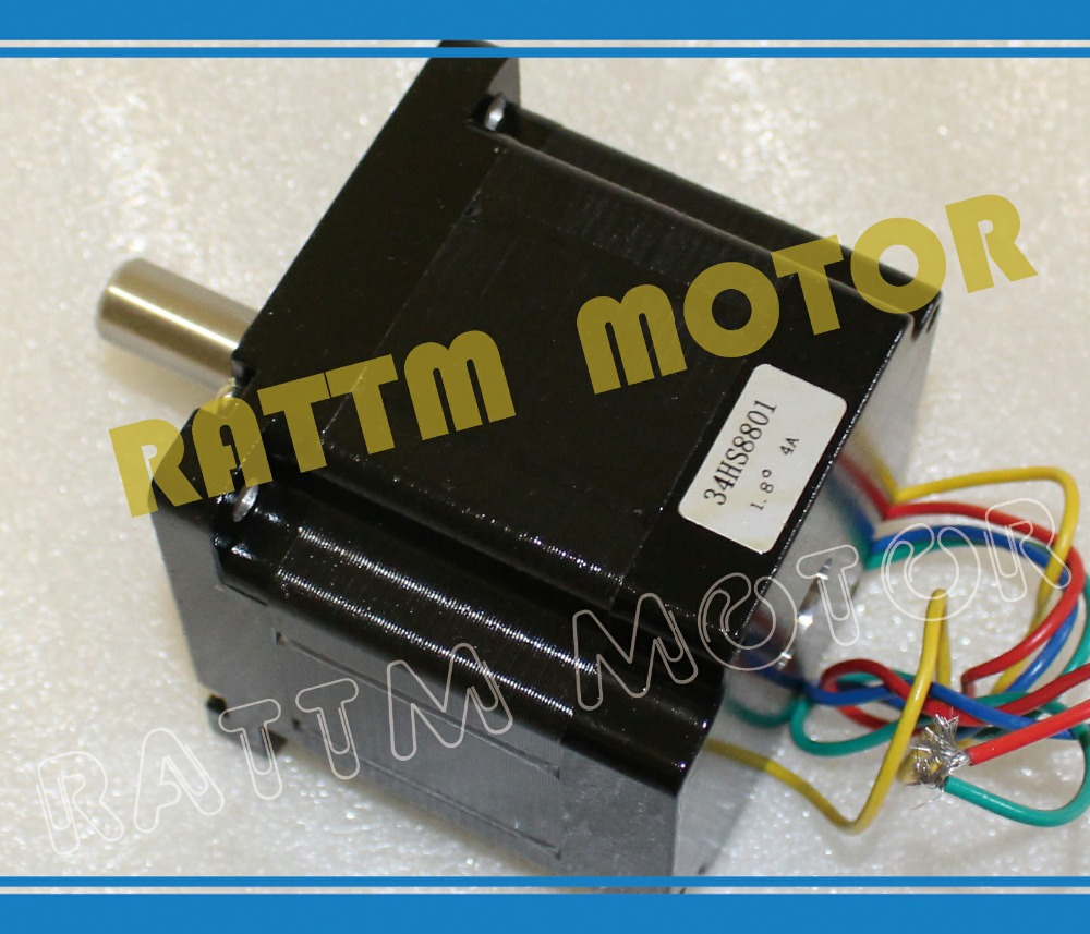 Quality NEMA34 CNC stepper motor 78mm/ 508 Oz-in stepping motor/4.0A цена