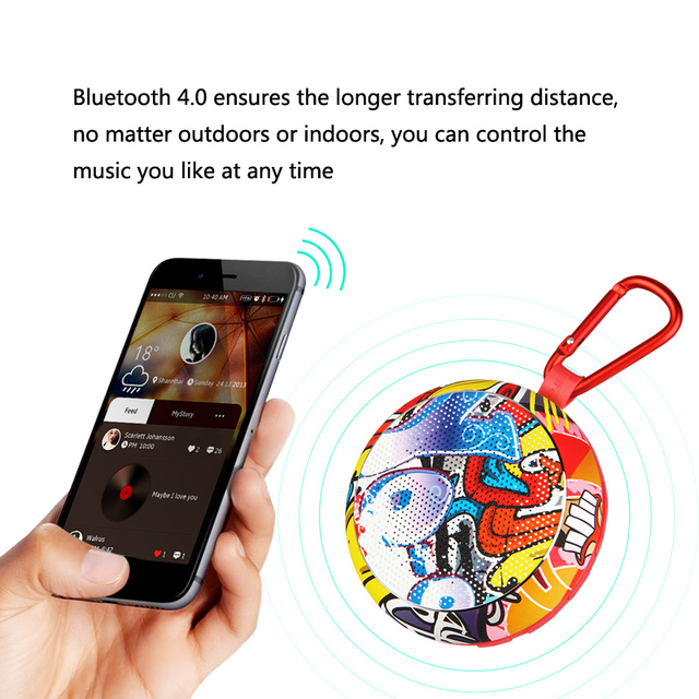 MIFA F1 Portable Bluetooth Speaker outdoor Wireless Speaker waterproof IPX4 with Sound  Strong Bass Stereo Music Audio Player