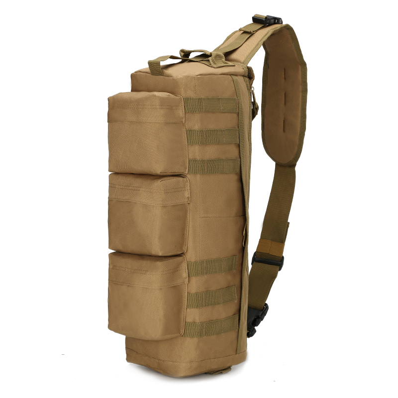 High Quality Nylon Men Chest Bags Rucksack Military Motorcycle Riding Single Shoulder Cross Body Assualt Bag Sling Backpack