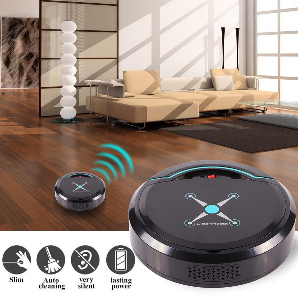 Rechargeable Smart Robot Vacuum Cleaner Household Auto Sweeper Cleaning Tools