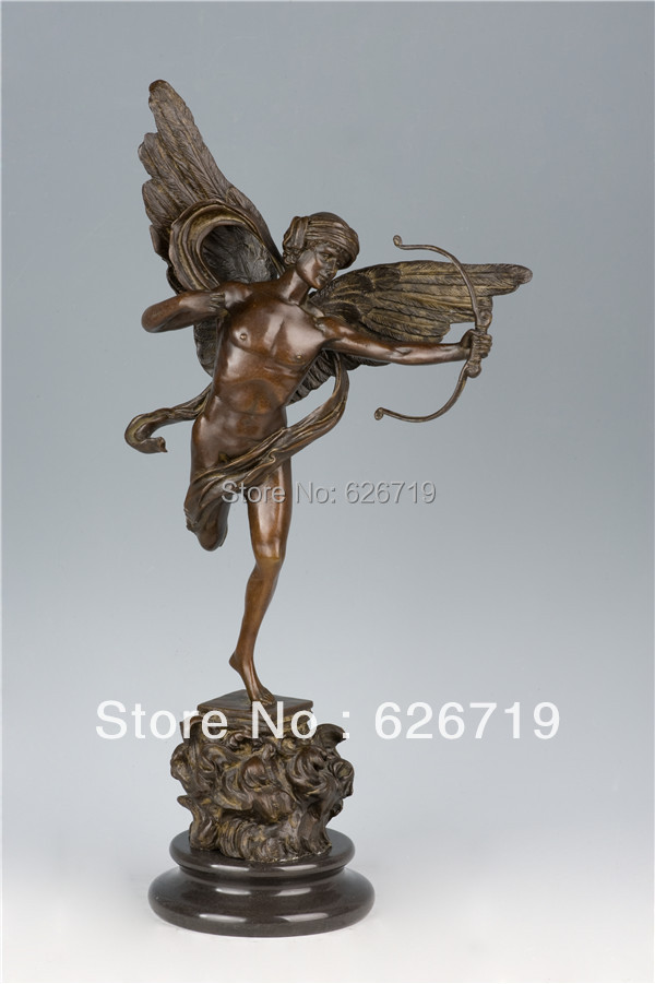 Atlie Bronzes New Design Bronze Ashtray Statue Woman And Man Sculptures Home Hotel Decoration