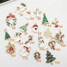 Fashion 1Set Hot Sale DIY Jewellery Drip Pendant Xmas Tree Decor Bracelet Necklace For Women Accessories