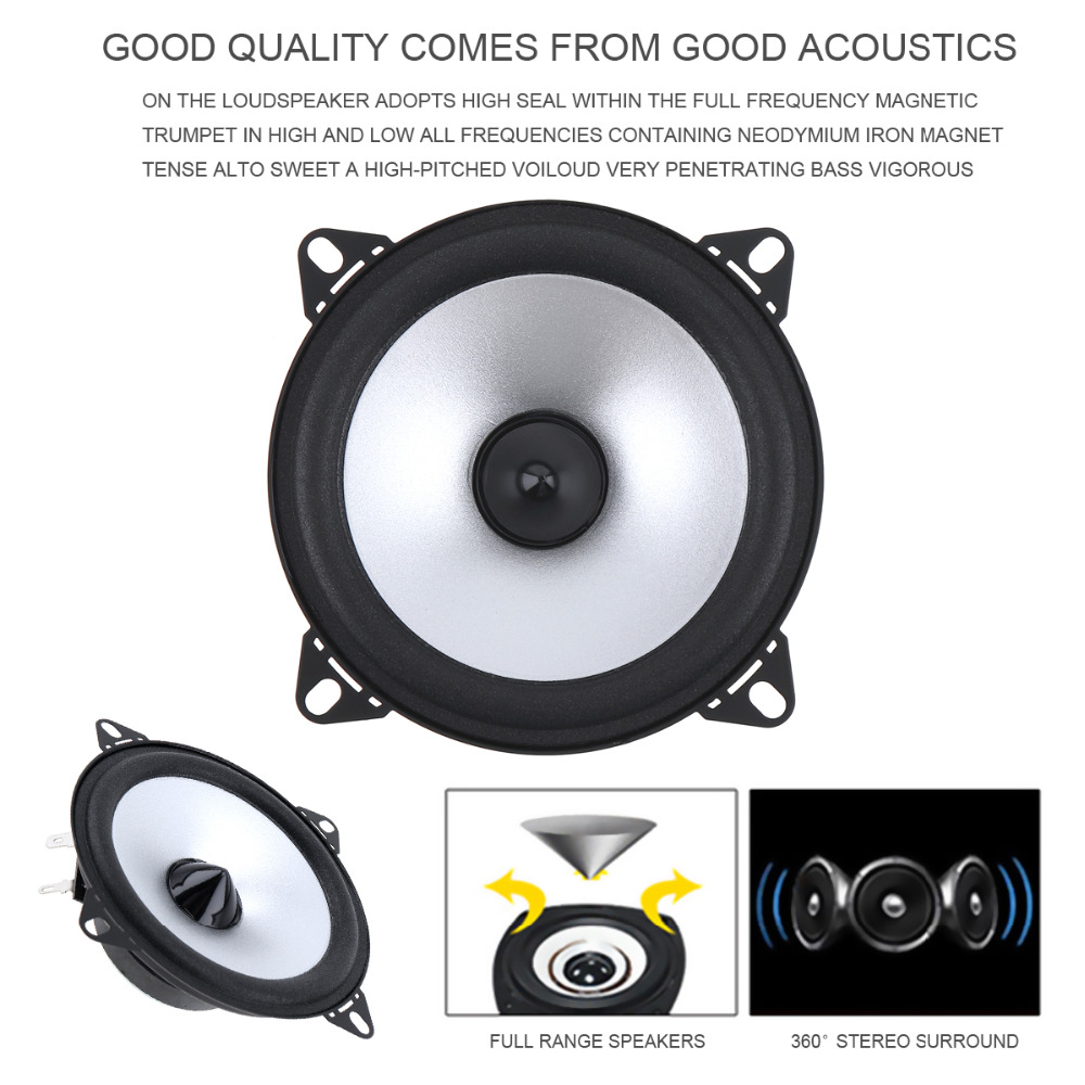 DealMux Pair 500W Car Speaker Audio Super Power Loud Dome Tweeter Speakers
