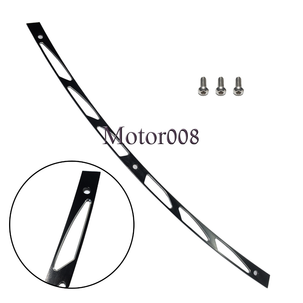 Black Hollow Fairing Windshield Trim For 1996 1997 1998