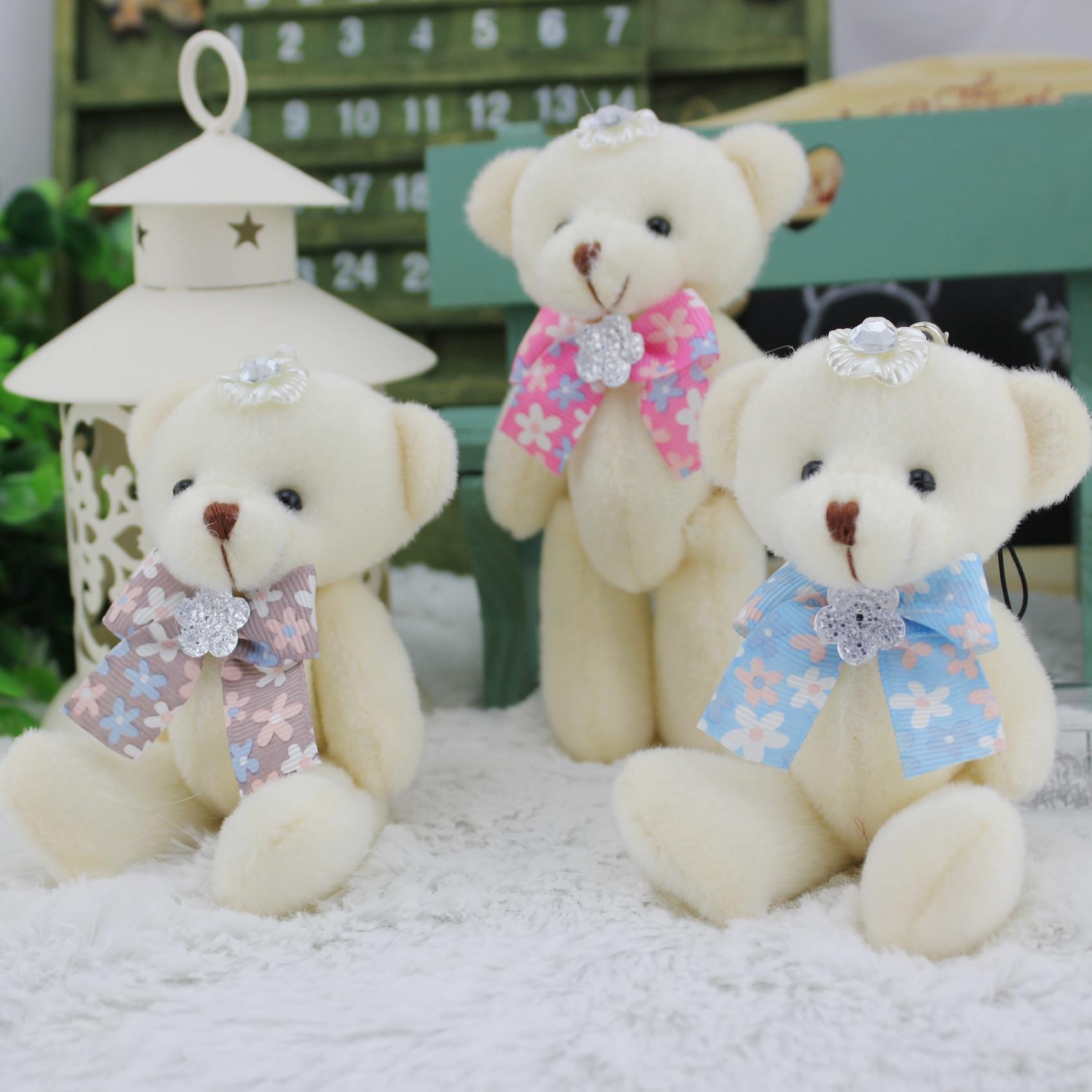 ②Juguetes bolsa de regalo de boda pajarita colgante flor muñeca ...