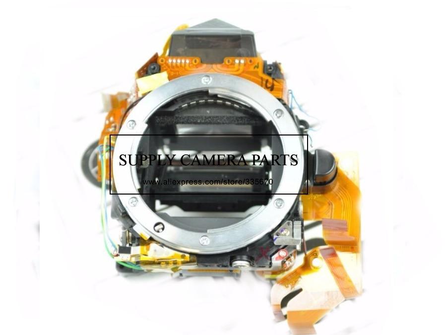 FREE SHIPPING!98%new camera small main box for Nikon D70 Mirror Box With View Finder Focusing Screen Repair Part original small main body mirror box replacement part for nikon d7200 camera repair parts