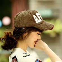 Ms H&C fall and winter plush baseball hat thickening han version males's outside leisure sports activities cap heat hat