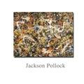 Jackson Pollock Art Gallery in Buffallo Still life Abstract oil Painting Drawing art Spray Unframed Canvas handmade Painting Art