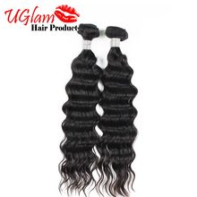Unprocessed Indian Virgin Hair Natural Wave 2 Bundles Human Hair Weave Bundles 8-12 inch Ms lula Hair Products Free shipping