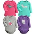 2PCS Cartoon Style Baby Girl Bodysuit Long Sleeve Girl Winter Autumn Clothes New Born Body Baby Ropa Bebe Next Baby Bodysuits