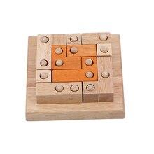 Деревянный цвет интеллект геометрическая форма заклинание вставки отверстие для взрослых Развивающие игрушки Развивающие головоломки игры Childen