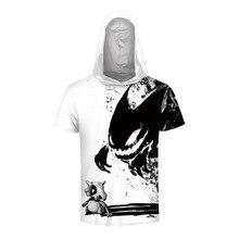 4d8f31a8d674 New Fashion Men women 3d T-shirt Print Watercolor Skulls and Little  Dinosaurs T