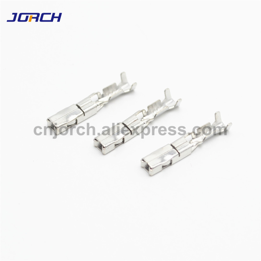 100pcs Crimp terminal G34 for auto FCI tyco delphi connector pins replcement of fci 211cc2s1120/211cc2s1160p image