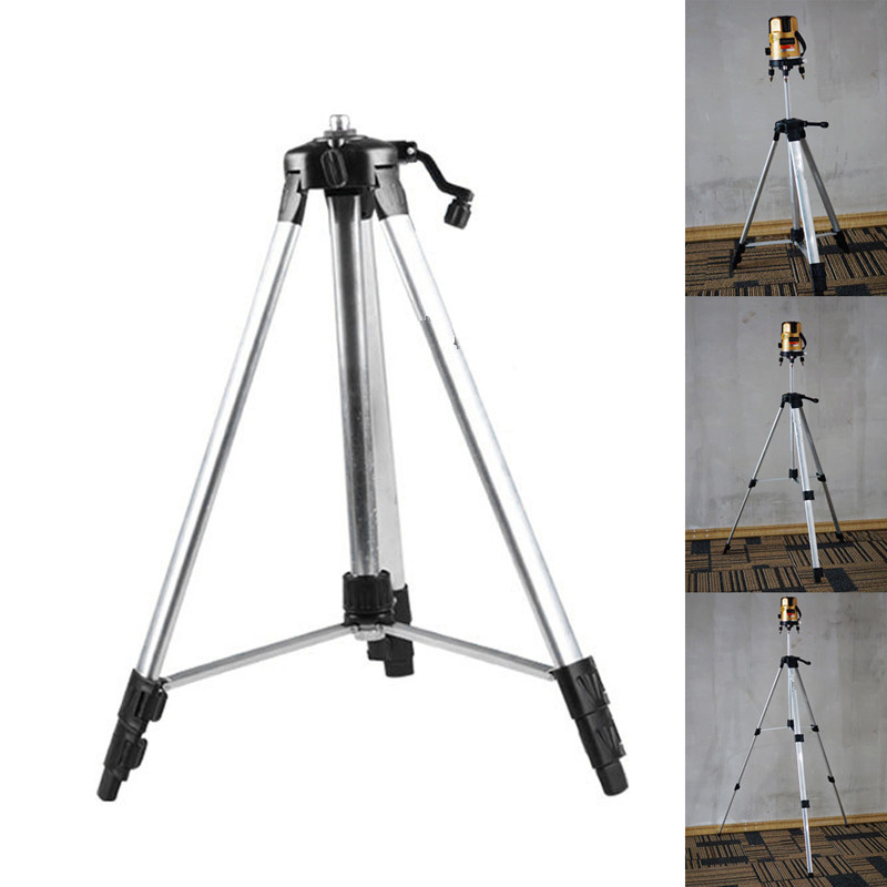 150cm 110cm Tripod Carbon Aluminum With 5/8 Adapter For Laser Level Adjustable #20/25W mydyicat 8 110cm