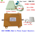 1 Компл. booster! 65dB Dual band wi-fi ретранслятор сотовой связи стандарта gsm, CDMA 850 МГц/DCS 1800 МГц 4 Г LTE усилитель сотового телефона усилитель сигнала