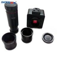 Luckyzoom HD 5MP USB Cmos Kamera Elektronik Dijital Mercek Mikroskop Adaptörü Ücretsiz Sürücü Görüntü Yakalama Için Win7/Win8/Win10