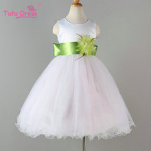 Flower Girl Pageant /  Bridesmaid Elegant Dress