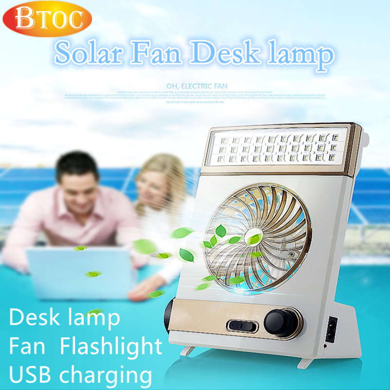 2016 summer NEW solar LED Portable lantern Flashlight Fan 3 in 1 light 110V 220V USB