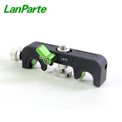 Lanparte 15mm System Cine DSLR Camera Microlens Quick Release Lens Support Bracket with 1/4-20 screw