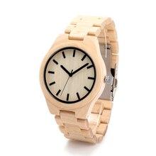 БОБО ПТИЦА Японский miyota 2035 движение мужские наручные часы широкий настоящее кожа полосой мужчины бамбук деревянные часы для мужчин и женщин F09
