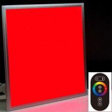 Super delgado Panel de luz 600×600 RGB A Todo Color de 36 W Led de techo luz AC100-240 Tensión + RF Remoto Controlador RGB