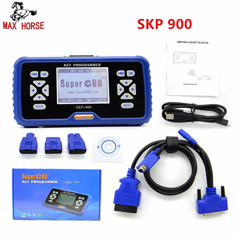 11.11 Promotion V5.0 Original SuperOBD SKP900 OBD auto key programmer Life-time Free Update Online Support Almost All Cars oem tango key programmer with all software tango transponder programmer oem tango v1 11 support update