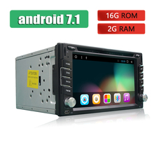 2 Din Car Radio GPS Android Car Stereo Bluetooth Touch Screen Autoradio USB SD iPhone iPod MP3 TV In Dash Car DVD Player