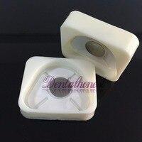 2pcs Dental Lab Magnetic Silicone Plaster Model Former Base Molds Full Arch