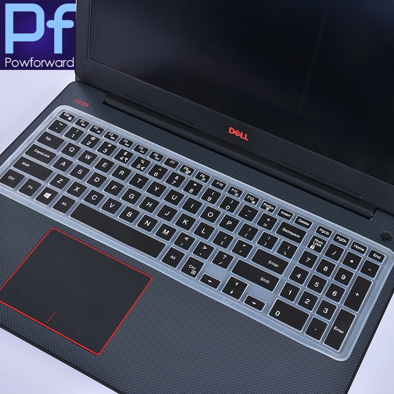 Dell G3 G5 G7 15.6 Series Keyboard Cover Laptop Keyboard Protector Skin for 2019//2018 Dell Inspiron 15 3000 5000 7000 15.6