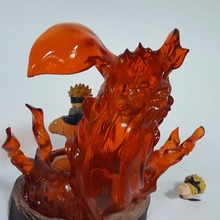 Naruto Nine Tailed Fox Version 180mm PVC Anime Action Figure Collectible Model Toy
